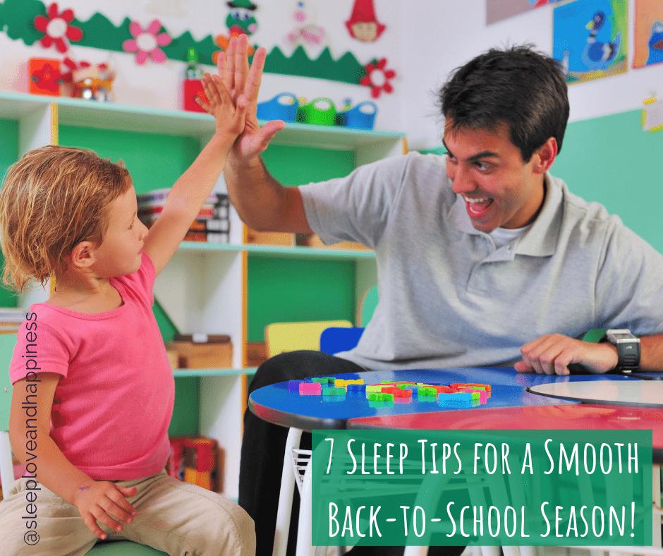 7 sleep tips for back-to-school
