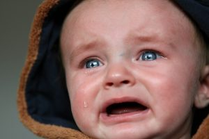 babies cry, but does mean sleep training isn't safe?