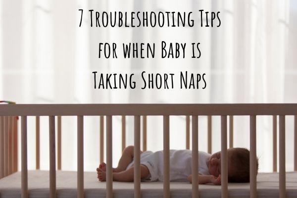 baby taking short naps