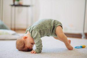 gross motor milestones and sleep regression