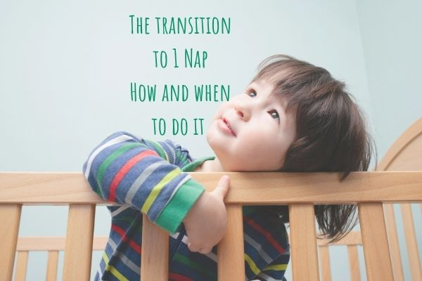 transition to 1 nap baby and toddler sleep