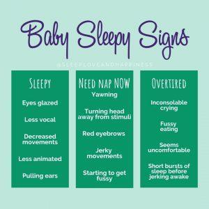 baby sleepy signs
