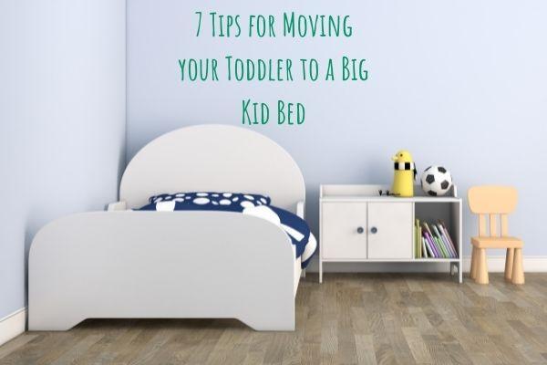 toddler big kid bed