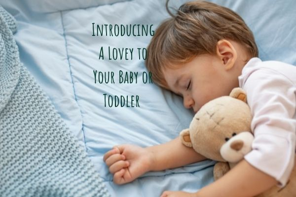 lovey for toddler or baby